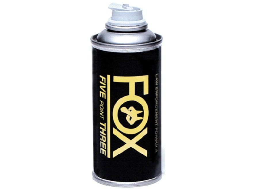 Fox Labs Pepper Spray Lock-On Grenade Aerosol Black