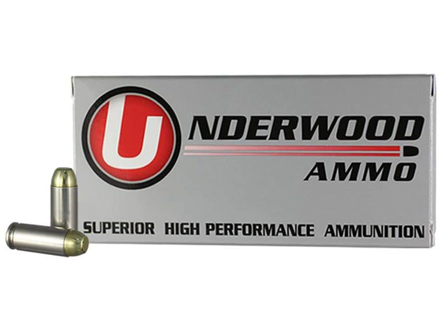 Underwood Ammunition 10mm Auto 155 Grain Full Metal Jacket Box of 50