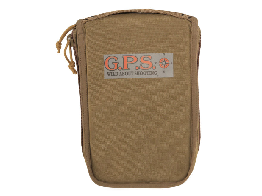 G.P.S. Tactical Pistol Case for Tactical Range Backpack