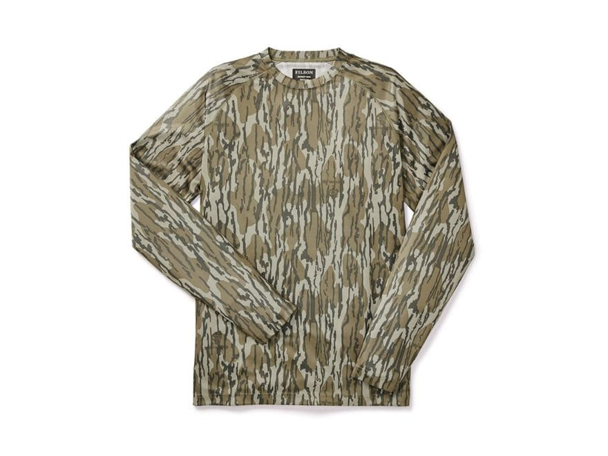 Filson Men's Barrier T-Shirt Long Sleeve Polyester