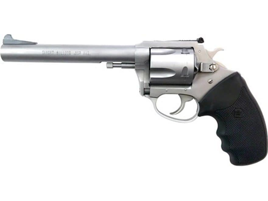 Charter Arms Target Bulldog Revolver 5-Round Stainless and Black Rubber