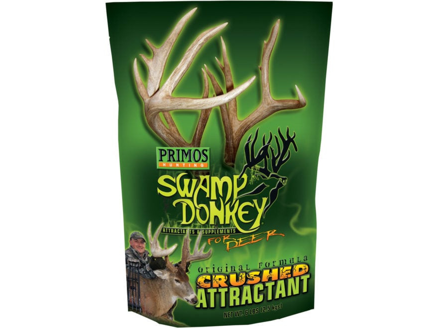 Primos Swamp Donkey Crushed Original Deer Attractant Powder 6 lb Bag