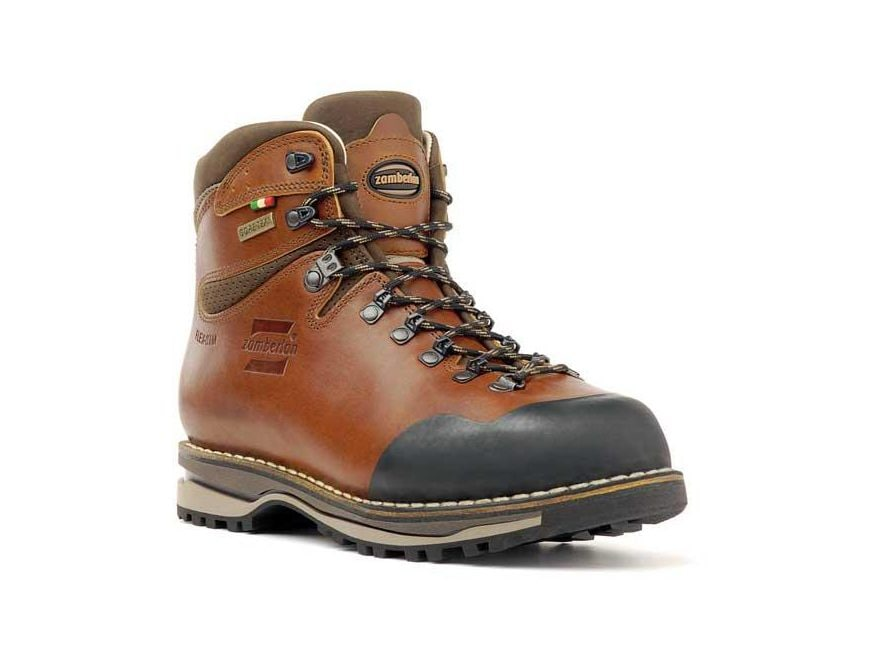"Zamberlan 1025 Tofane NW GTX RR 6"" Waterproof Hiking Boots Full Grain Waxed Leather Men's"