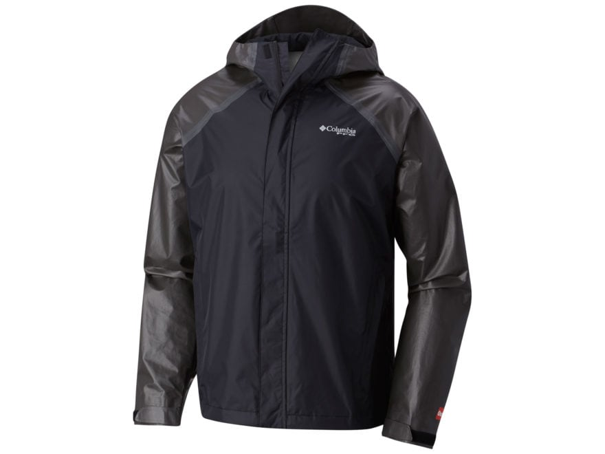 Columbia Men's PFG ODX Hybrid Waterproof Jacket Nylon