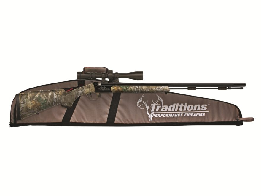 """Traditions Pursuit G4 Ultralight Package Muzzleloading Rifle 50 Caliber 26"""" Barrel with..."""