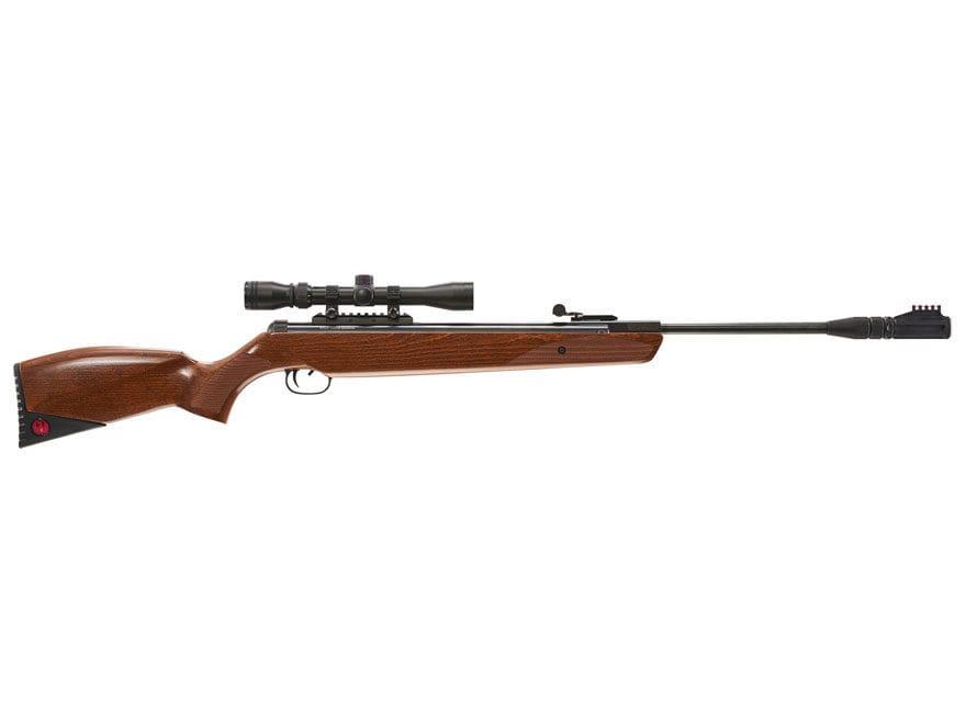 Ruger Yukon Magnum Break Barrel Air Rifle Pellet Wood Stock with Scope 3-9x32mm