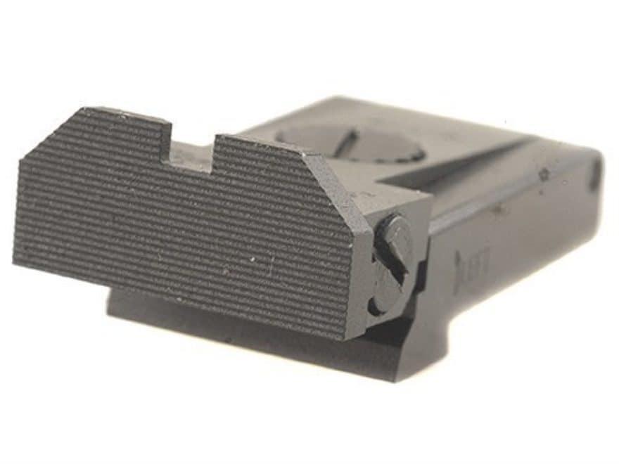 Kensight Adjustable Rear Sight Glock 17, 22, 24, 31, 34, 35 Steel Black Beveled Blade F...