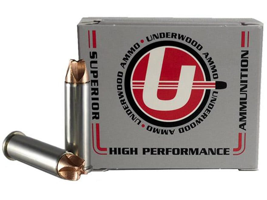 Underwood Xtreme Hunter Ammunition 357 Magnum 120 Grain Lehigh Xtreme Defense Lead-Free...