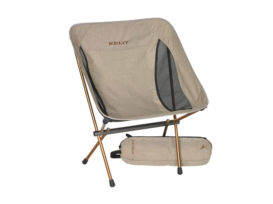 Kelty Linger Low-Back Camp Chair Polyester and Aluminum