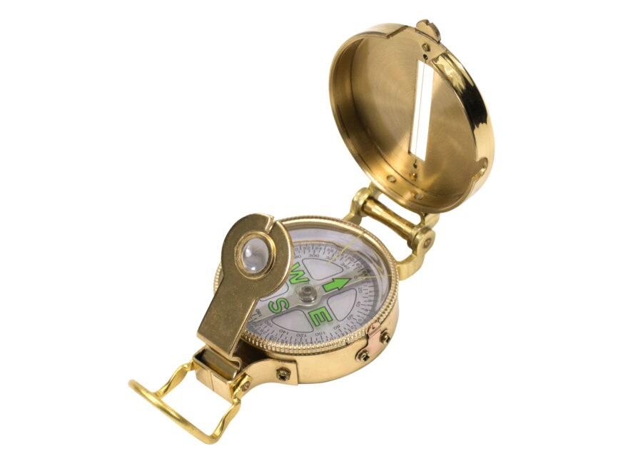 UST Heritage Lensatic Compass Brass
