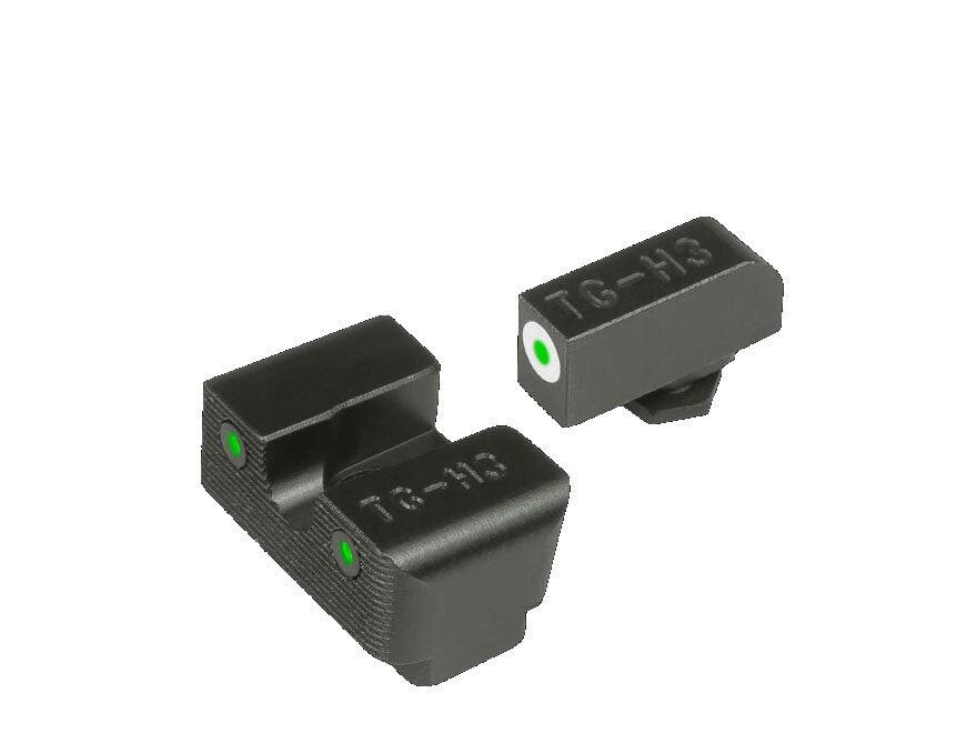 TRUGLO Tritium Pro Sight Set Glock 20, 21, 25, 28, 29, 30, 31, 32, 37, 40, 41 Tritium G...