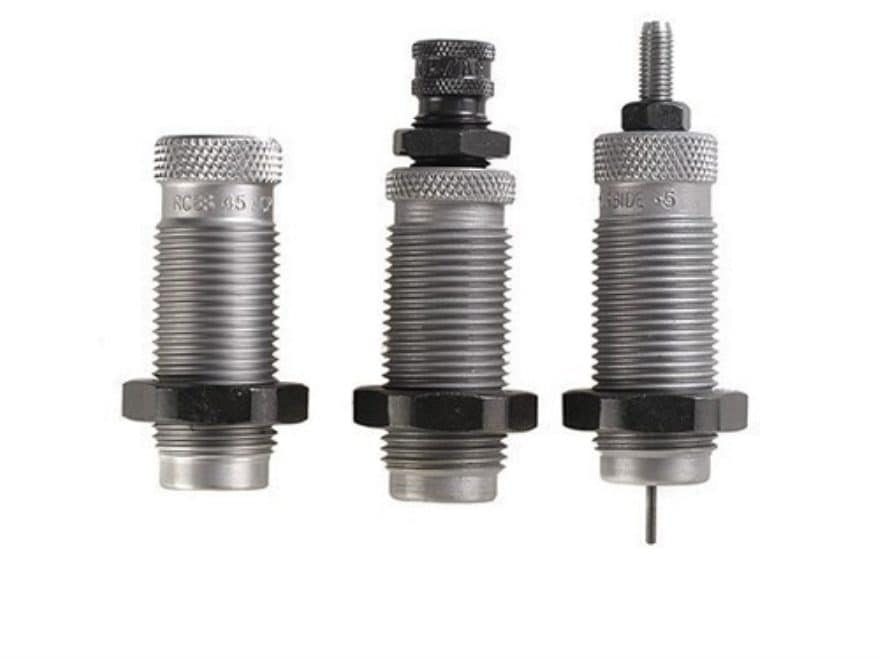 RCBS Carbide 3-Die Set with Taper Crimp
