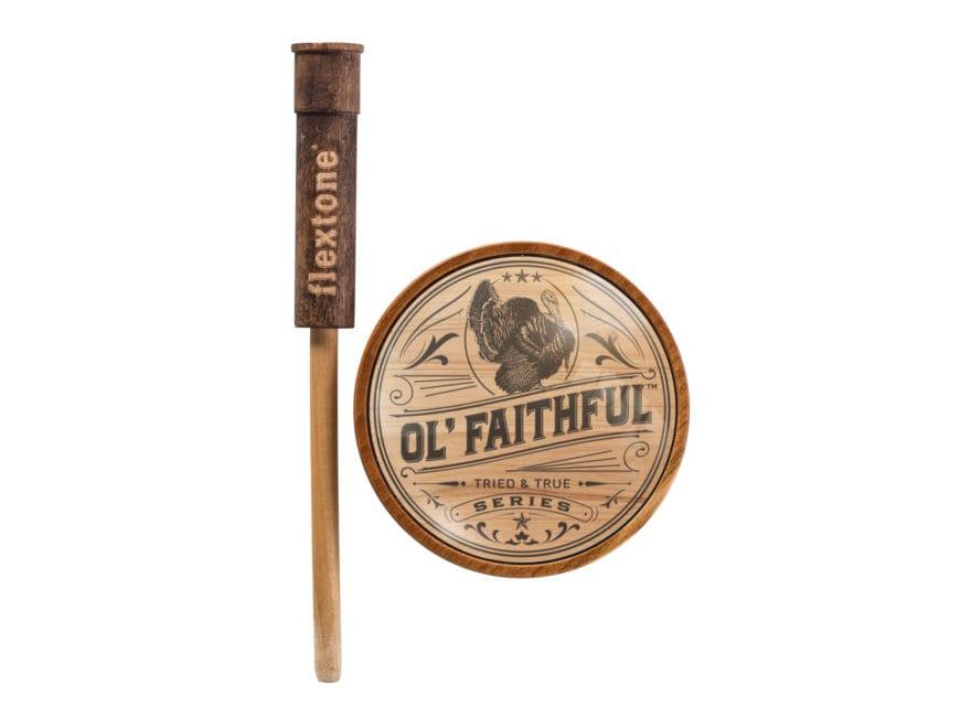 Flextone Turkey Man Series Ol' Faithful Glass Turkey Call