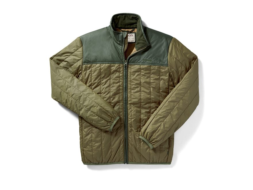 Filson Men's Ultra Light Quilted PrimaLoft Insulated Jacket Cordura Ripstop Nylon