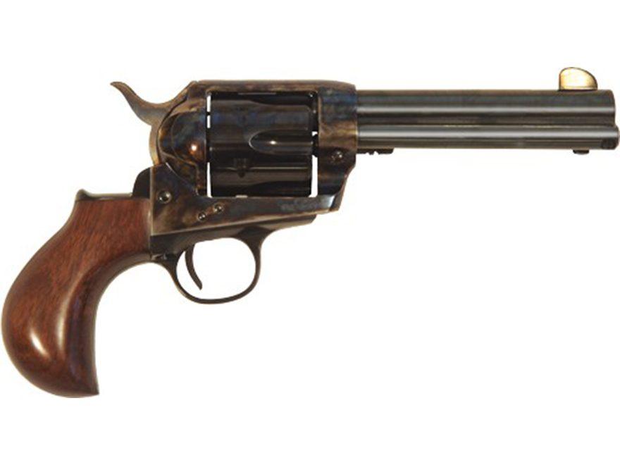 Cimarron Thunderball Revolver 6-Round Color Case Hardened, Blue, Walnut Birdshead Grip