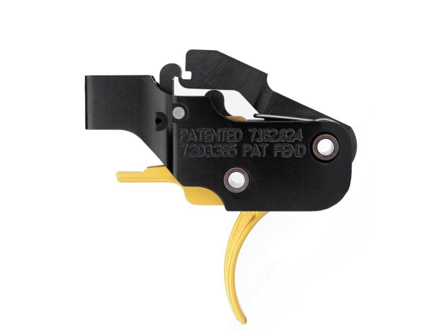 """American Trigger Corp. AR Gold Trigger Group AR-15 Small Pin .154"""" Adjustable Two Stage..."""