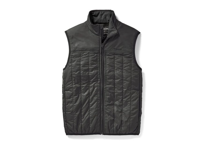 Filson Men's Ultra Light PrimaLoft Insulated Vest Cordura Ripstop Nylon