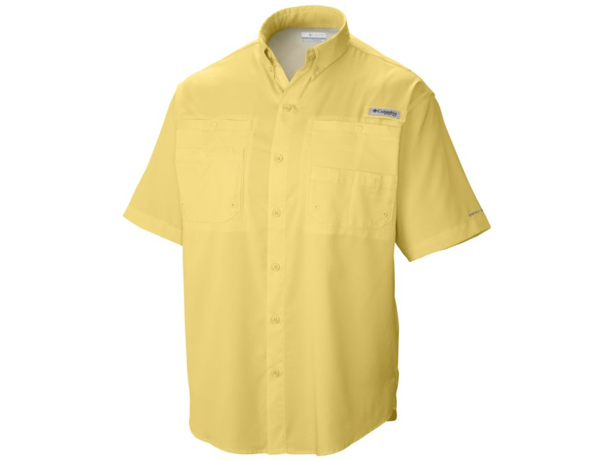 Columbia Men's PFG Tamiami II Button-Up Shirt Short Sleeve Polyester