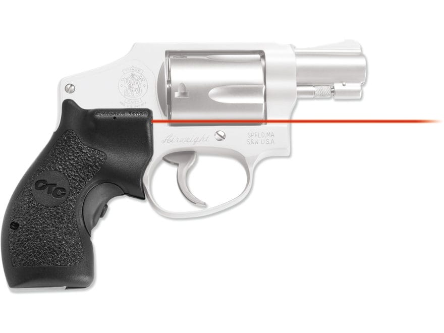 Crimson Trace Lasergrips Smith & Wesson J-Frame Round Butt Polymer