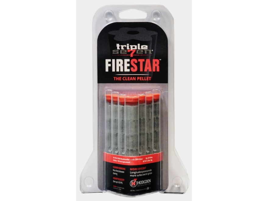 Hodgdon Triple Seven Firestar Black Powder Substitute 50 Caliber 33 Grain Pellets Packa...