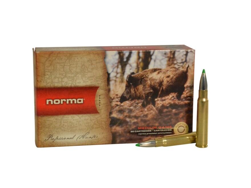 Norma USA American PH Ecostrike Ammunition 8x57mm JS Mauser (8mm Mauser) 160 Grain Tipp...