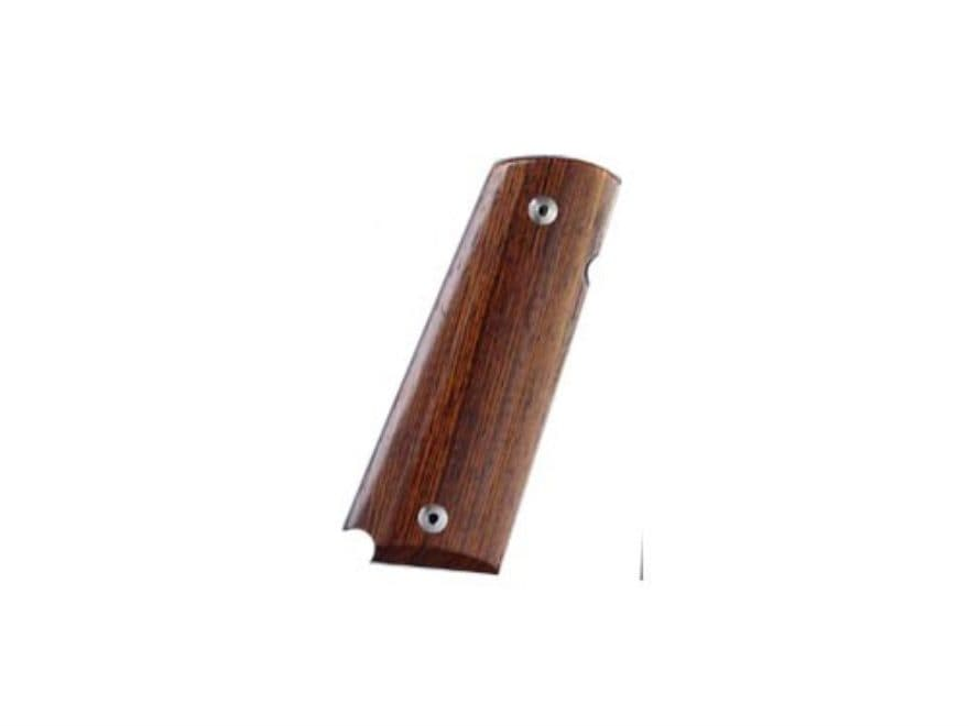 Hogue Grips 1911 Government, Commander Ambidextrous Safety Cut Cocobolo