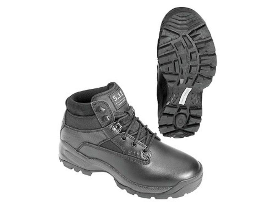 "5.11 ATAC 6"" Tactical Boots Leather/Nylon Black Men's"
