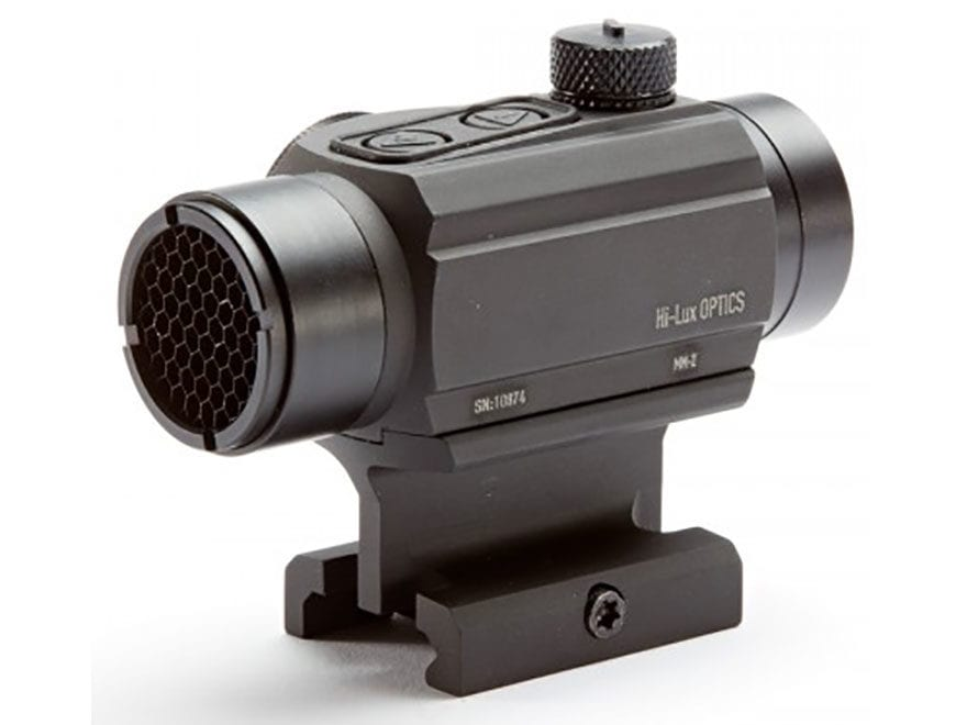 Leatherwood Hi-Lux MM-2 Red Dot Sight 1x 20mm 2 MOA Dot with Mount Matte