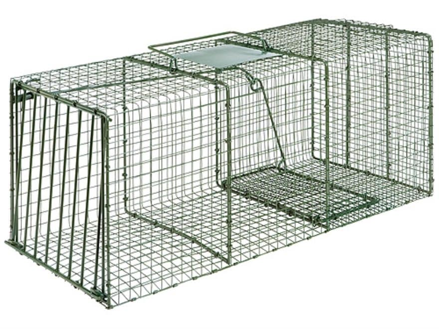 Duke HD X-Large Heavy Duty Single Door Cage Trap Steel Green