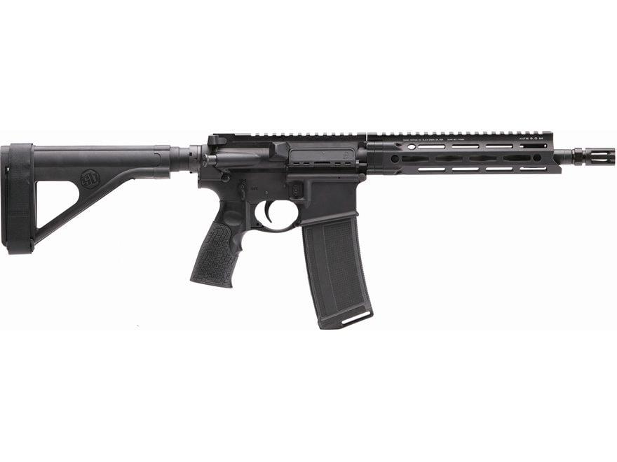 "Daniel Defense V7P Pistol 10.3"" Barrel with Stabilizing Brace 32-Round Polymer"