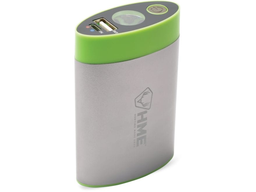 HME Electronic Hand Warmer with Flashlight