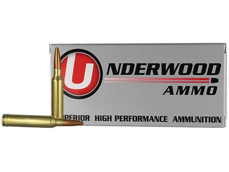 Underwood Ammunition 7mm Remington Magnum 142 Grain Lehigh Controlled Chaos Lead-Free B...
