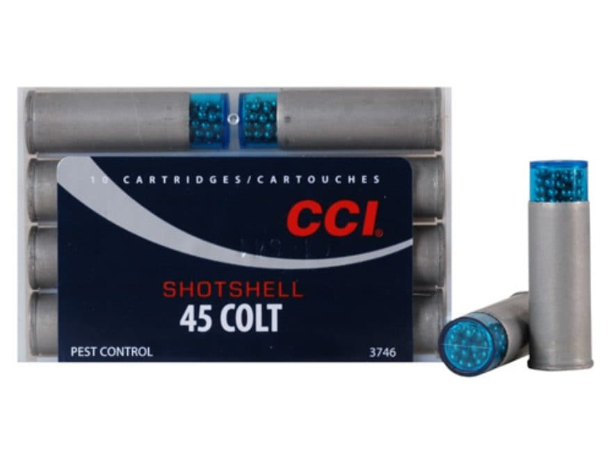 CCI Shotshell Ammunition 45 Colt (Long Colt) 150 Grains #9 Shot