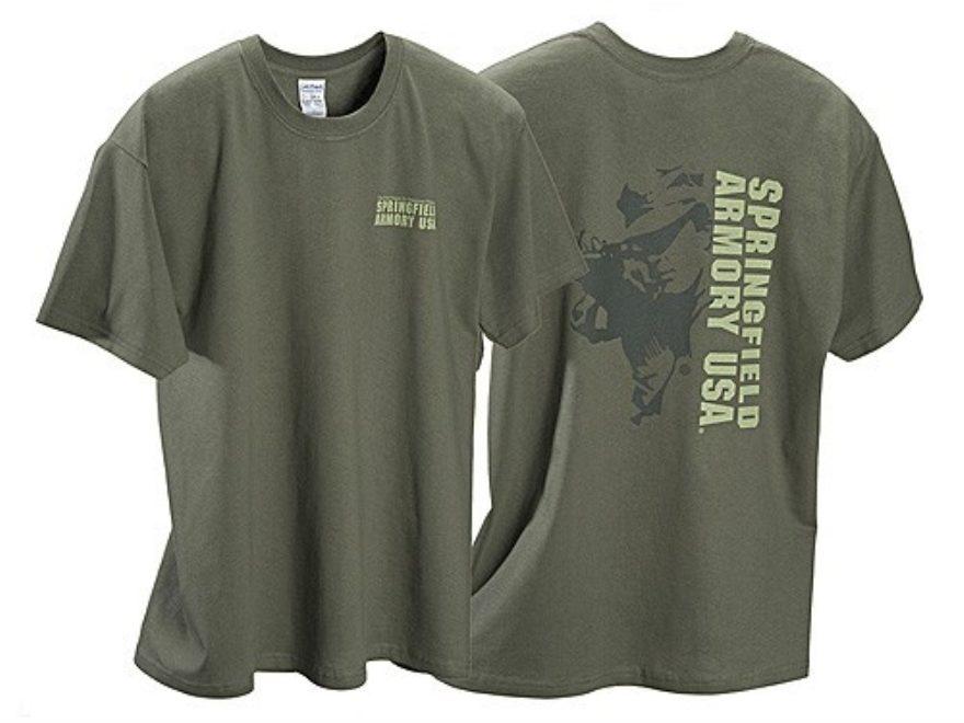 Springfield Armory Shooter T-Shirt Short Sleeve Cotton