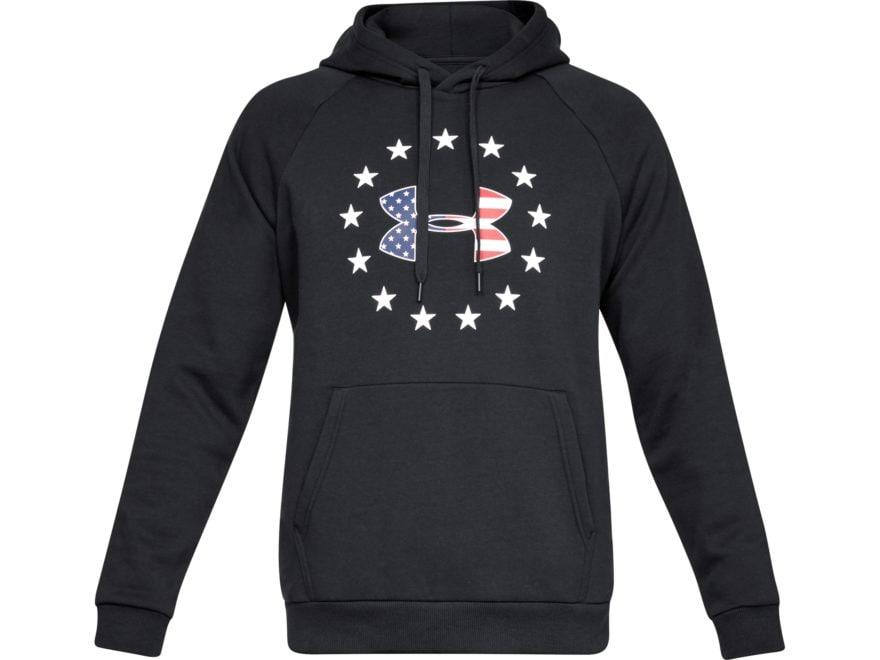 Under Armour Men's UA Freedom Rival Fleece Logo Hoodie Cotton/Polyester