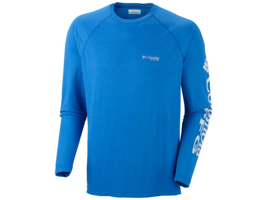 Columbia Men's PFG Terminal Tackle Shirt Long Sleeve Polyester
