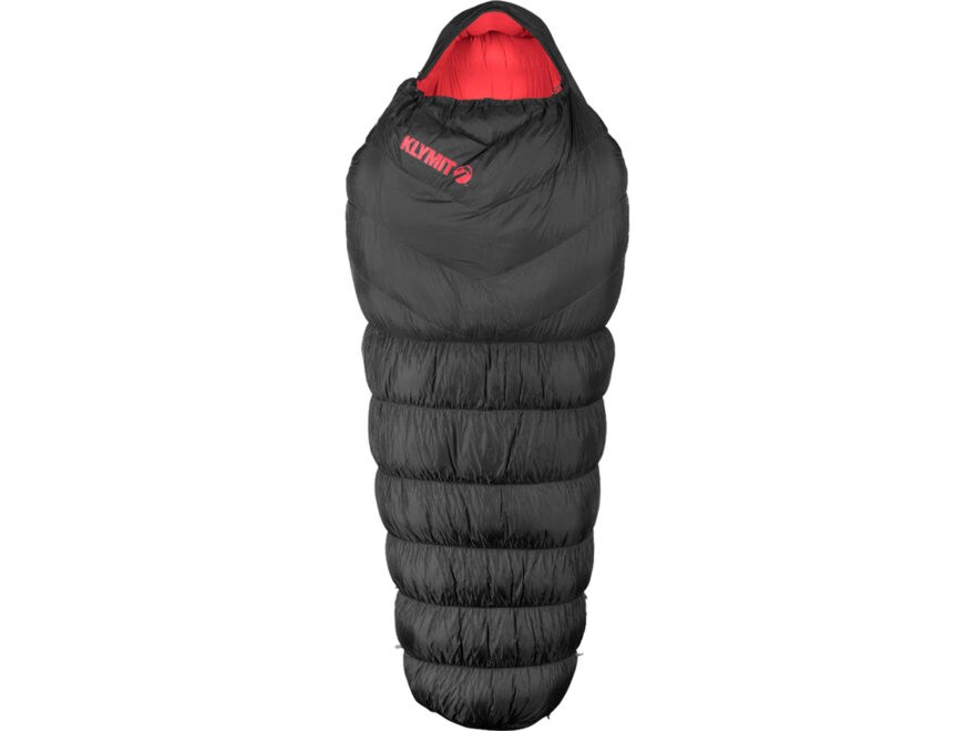 Klymit KSB 0 Degree Oversized Down Sleeping Bag Polyester Black
