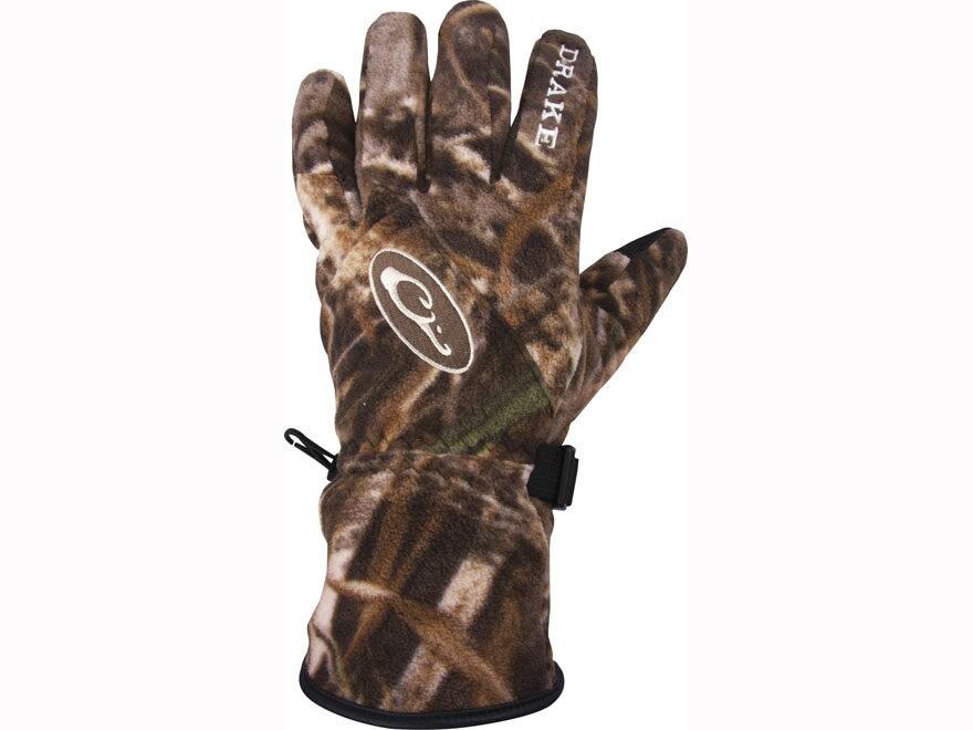 Drake Windstopper Fleece Gloves Polyester
