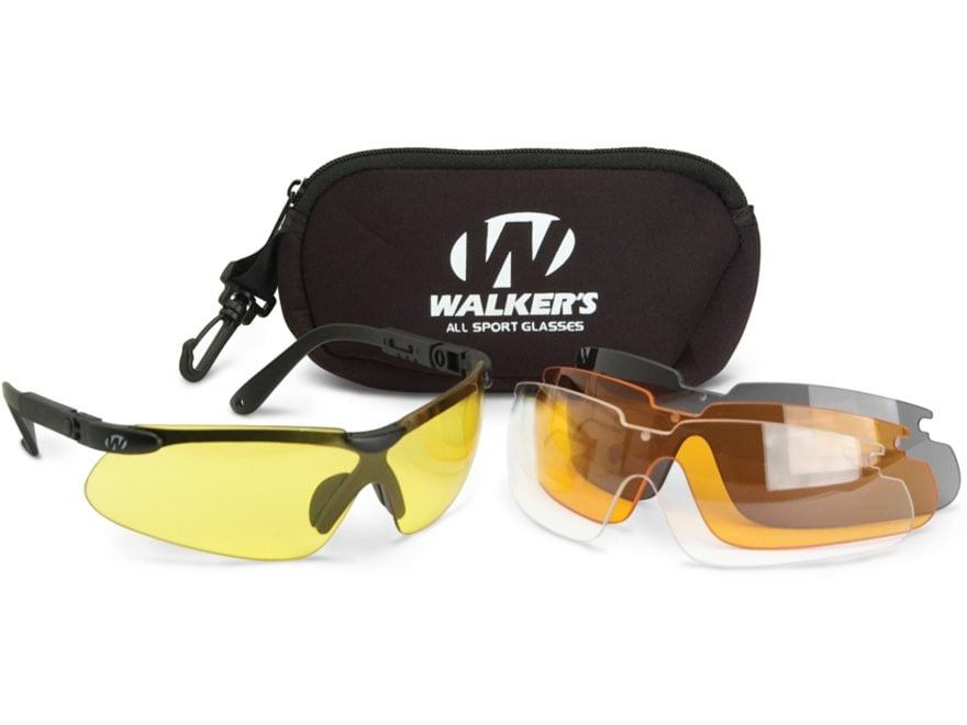 Walker's Sport Shooting Glasses Kit