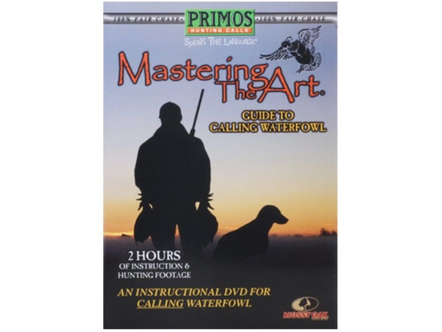 "Primos ""Mastering the Art, Guide to Calling Waterfowl"" Instructional DVD"