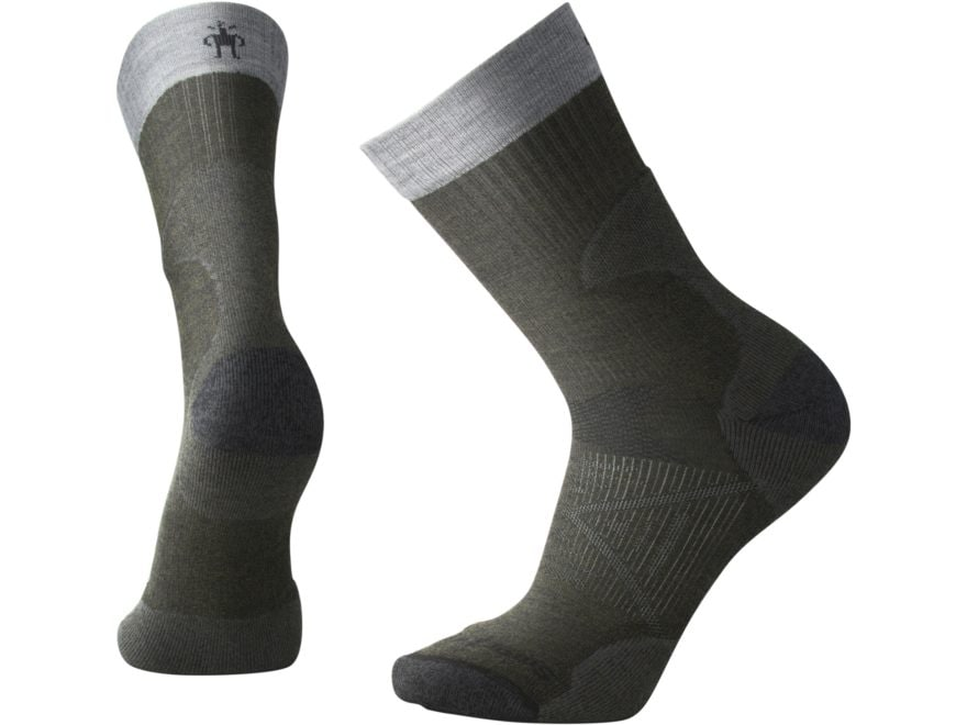 Smartwool Men's PhD Pro Light Crew Socks Merino Wool/Nylon