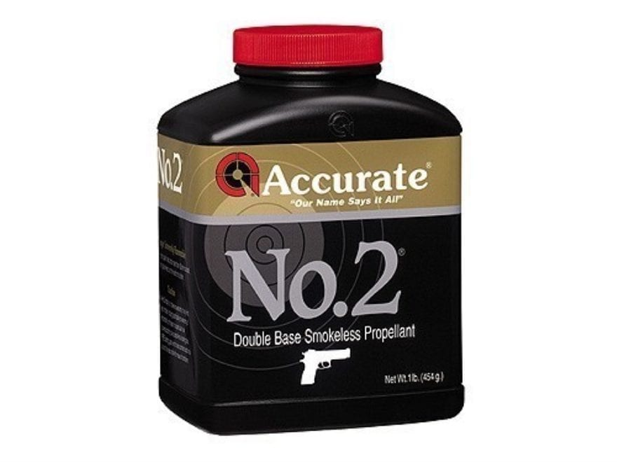 Accurate No. 2 Smokeless Gun Powder