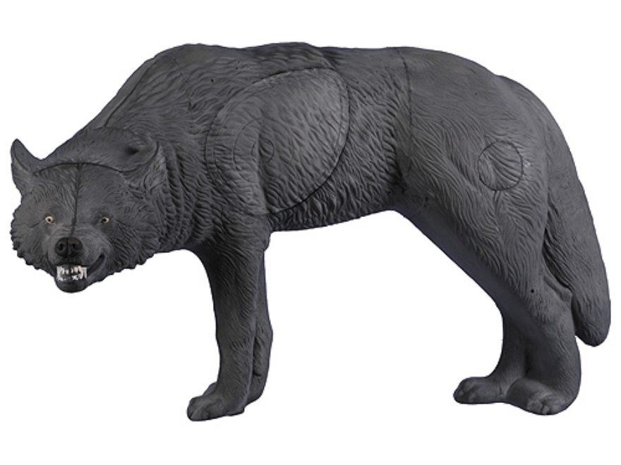 Rinehart Snarling Gray Wolf 3D Foam Archery Target