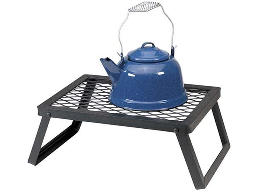 Stansport Heavy Duty Camp Grill Steel Black