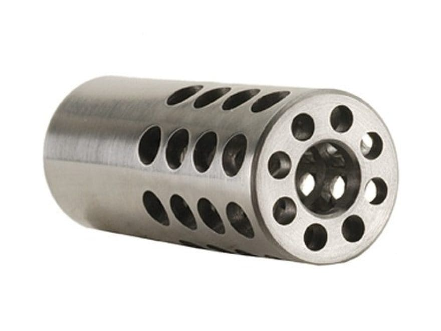 "Vais Muzzle Brake Micro 257 Caliber 1/2""-32 Thread .750"" Outside Diameter x 1.750"" Length"