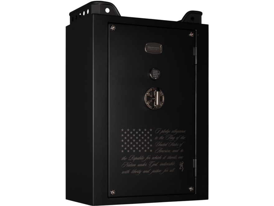 Browning Mark IV Stars and Stripes Wide Fire-Resistant 49 Gun Safe with Electronic Lock...