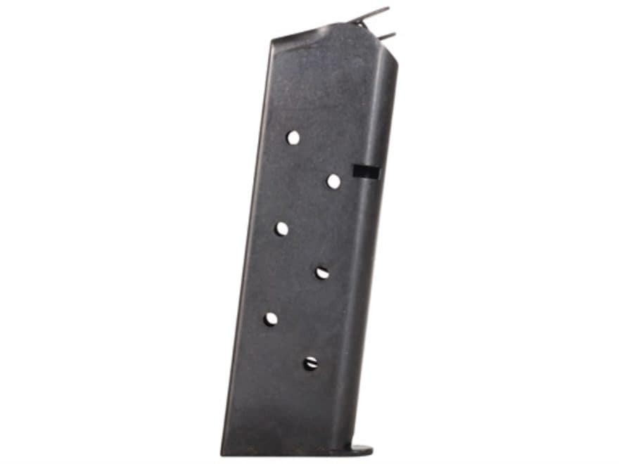 Metalform Magazine 1911 Government, Commander 45 ACP 8-Round Steel Blue Flat Follower W...