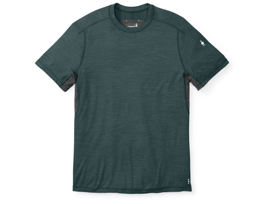 Smartwool Men's PhD Ultra Light T-Shirt Short Sleeve Merino Wool/Polyester/Nylon