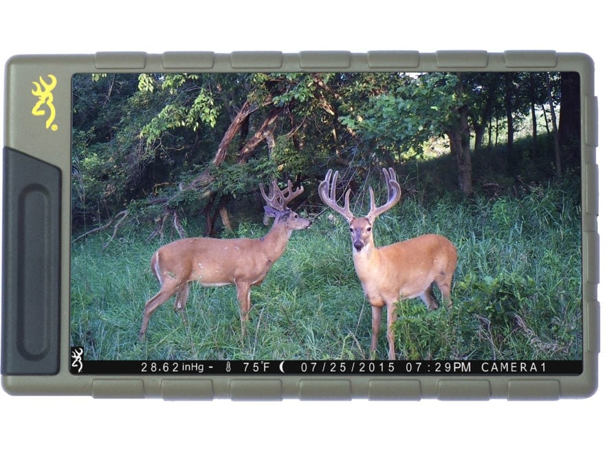 Browning Game Camera SD Card Reader with Color Viewing Screen