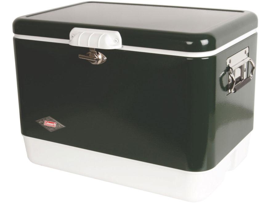 Coleman Steel Belted 54 Qt Cooler